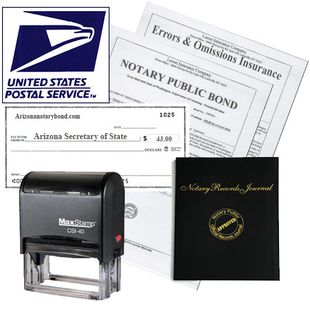 Complete Arizona Notary Bond Package