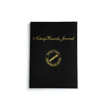 Hard Back Arizona Notary Public Journal