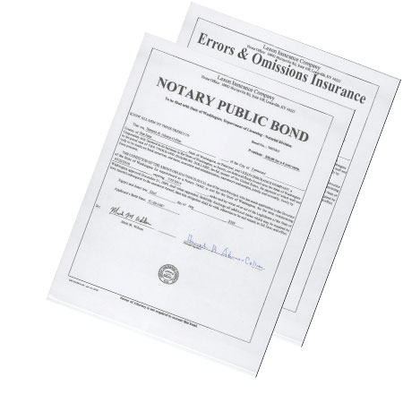 Arizona Notary Bond & Errors and Ommissions Coverage